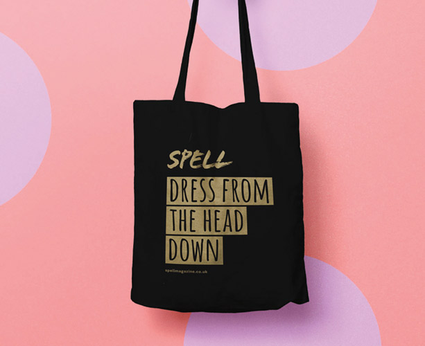 Spell Beauty tote