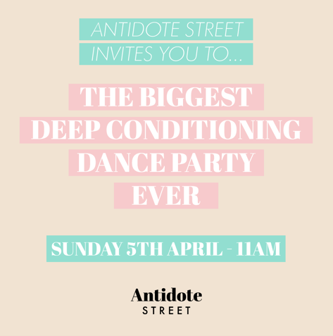 Antidote Street deep conditioning dance party