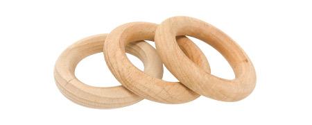 Grapat 3 Rings Natural Wood