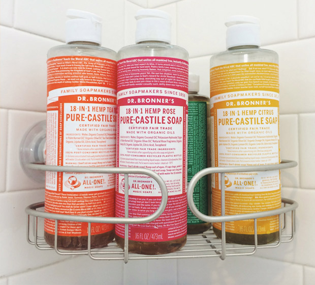 Dr. Bronner's 18-in-1 Pure-Castille Soap