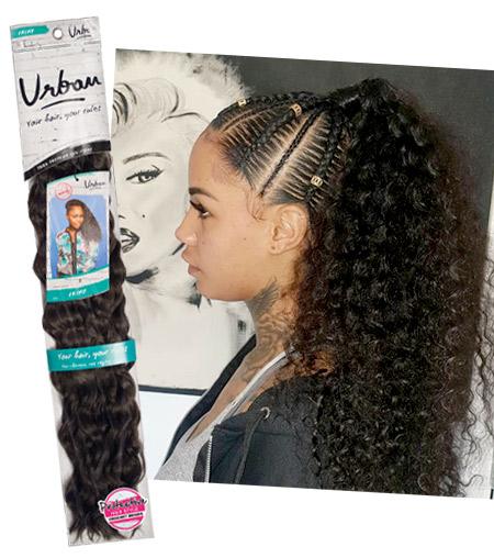 Feed-in braids