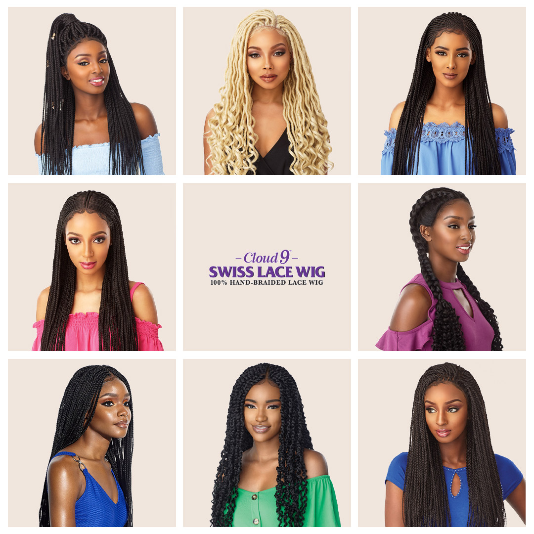 Spell Beauty Cloud 9 Braided Lace Wig
