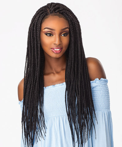Cloud 9 Braided Lace Wig Box Braid Large