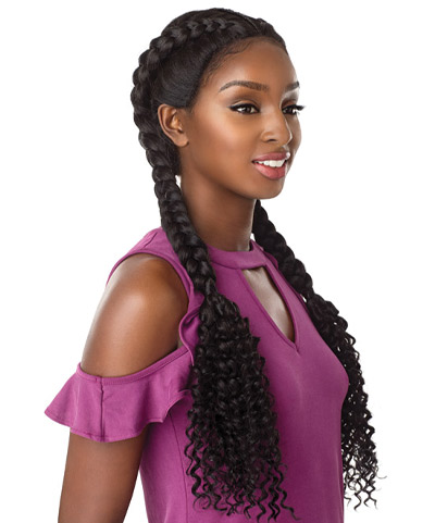 Cloud 9 Braided Lace Wigs Bohemian Dutch Braid