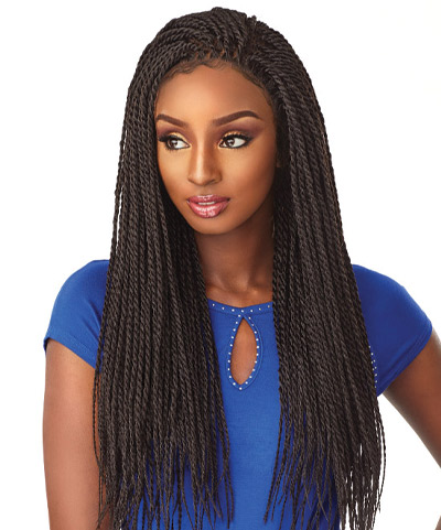 Cloud 9 Braided Lace Wigs Senegal Twist
