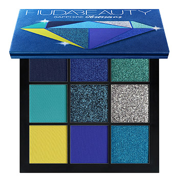 Huda Beauty Sapphire Obsessions Palette, £25