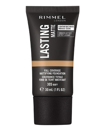 Rimmel Lasting Matte, Full Coverage Mattyfying Foundation, £7.99