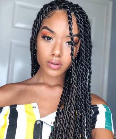 Senegalese Twists - Pinterest