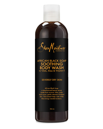 Shea Moisture African Black Soap Soothing Body Wash, £5.99