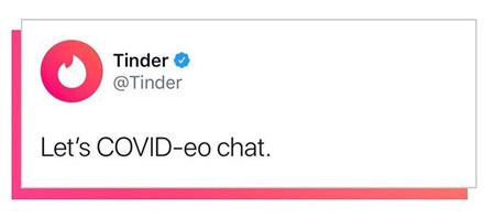 Tinder COVID-19
