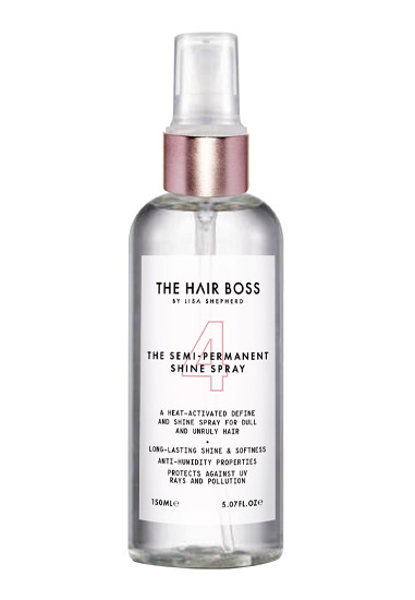 The Hair Boss The Semi- Permanent Shine Spray, £12.99