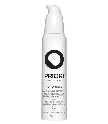 PRIORI Tetra Broad Spectrum SPF40 Sunscreen, £74