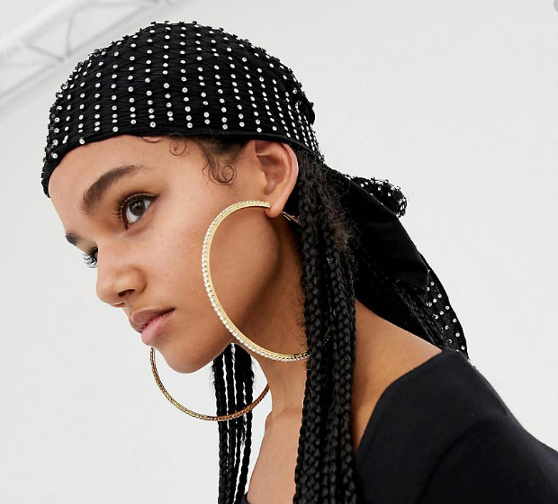 Diamanté durag