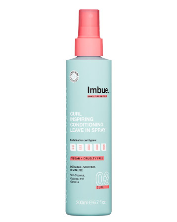 Imbue Curl Inspiring Conditioning Leave in Spray, £7.99