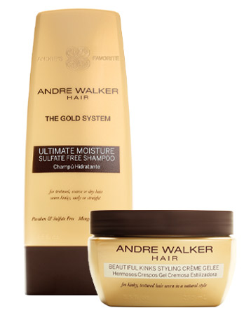 Andre Walker hair products