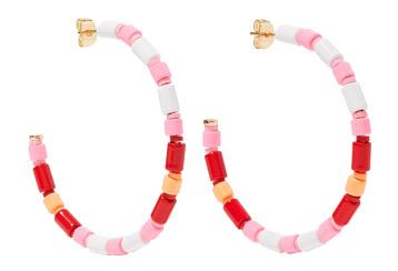 Roxanne Assoulin U-Tube Earrings at Net-A-Porter, £69
