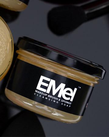 EMel Makeup Brush & Sponge Cleansing Soap