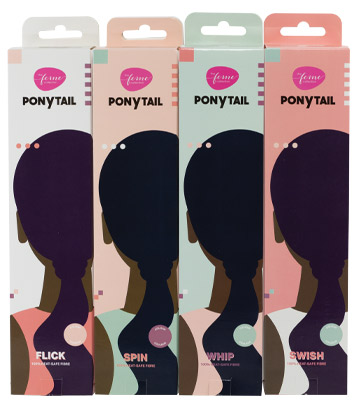 THE FEME COLLECTION Ponytail, from £14.99