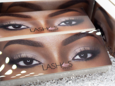 By Joy Adenuga - Lash packaging