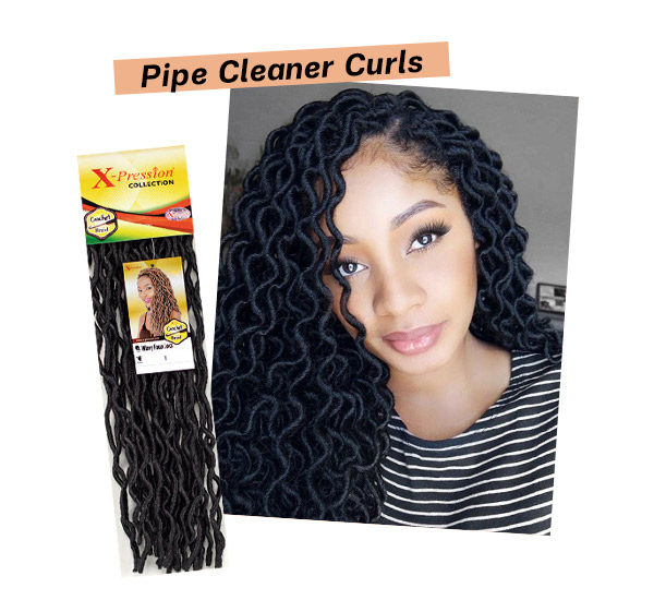 Pipe Cleaner Curls