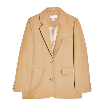 Topshop Camel Suit Blazer, £59