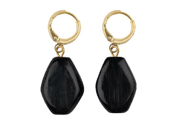 Yala Siaya Horn Nugget Hoop Earrings, £50