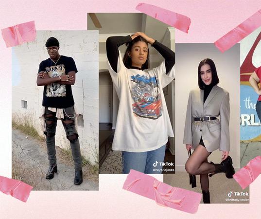 TikTok fashion shows