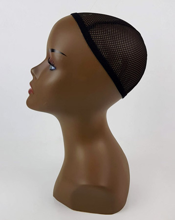 Small mannequin head - brown