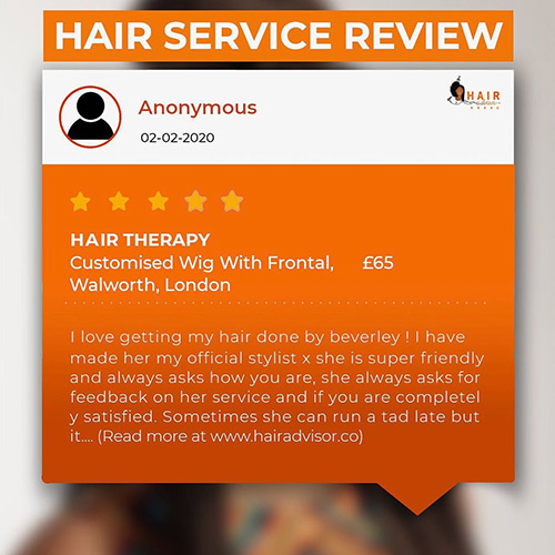 Hair service review