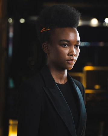 Charlotte Mensah hairstyle
