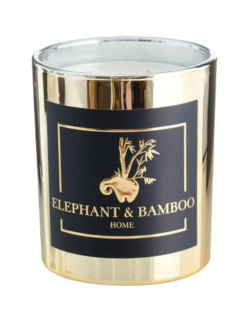 Elephant & Bamboo candle
