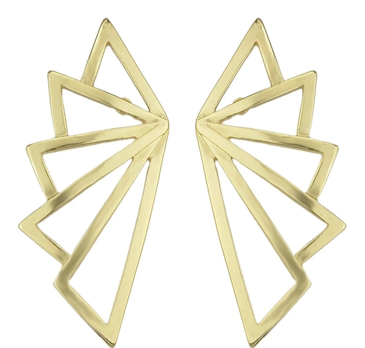Gold Statement Earrings – Zeal Accessories