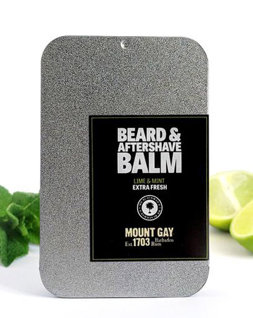 Mount Gay Lime & Mint Beard And Aftershave Balm – Mr Blackman's