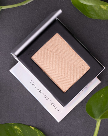 LETHAL COSMETICS Pressed Highlighter, £17.50