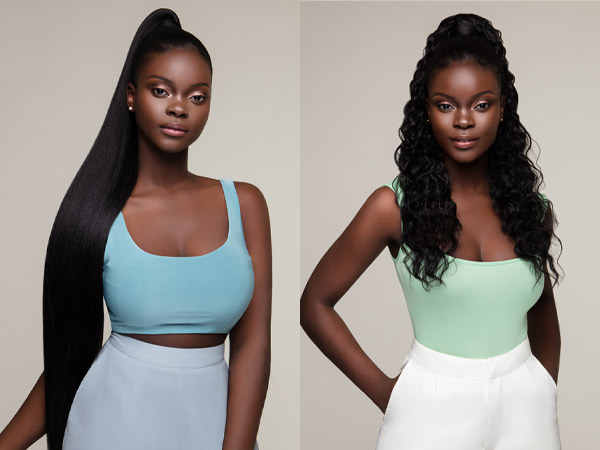 The Feme Collection Ponytail