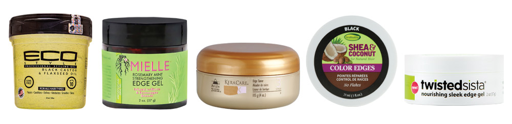 Hair gels for baby hairs