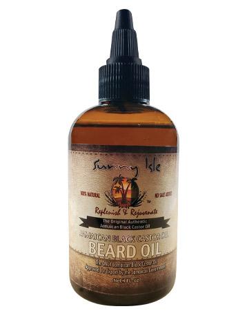 Sunny Isle Jamaican Black Castor Oil Beard Oil, £6.99