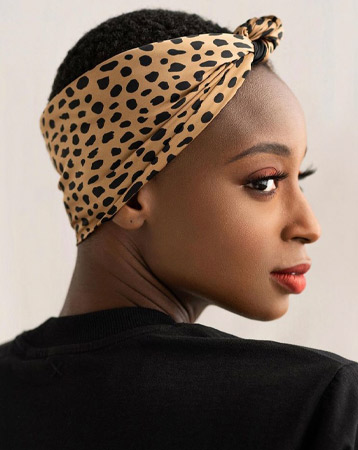 Headscarf hairstyle