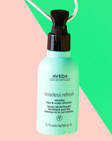 Aveda Rinseless Refresh Micellar Hair & Scalp Refresher, £24.50