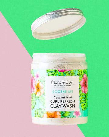 Flora & Curl Clay Wash, £22