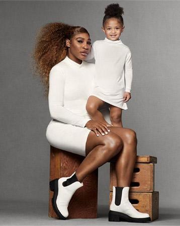 Serena Williams for Stuart Weitzman