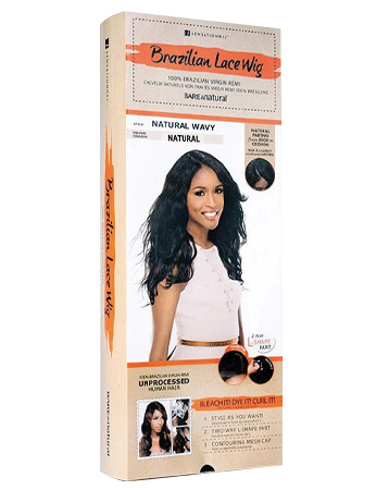 Bare & Natural Brazilian Lace Wig in Natural Wavy, £149.99