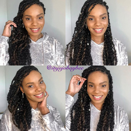 Joanna George - protective styling