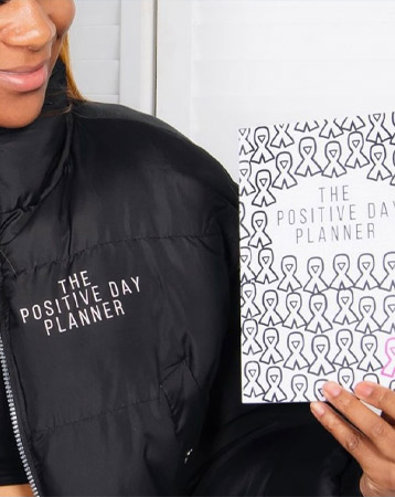 The Positive Day Planner by Leanne Pero