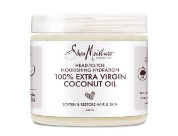 Shea Moisture 100% Extra Virgin Coconut Oil, £10.99
