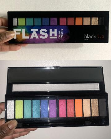 Black UP Paris Flash Colour Palette