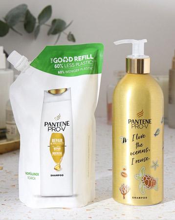Pantene sustainable packaging