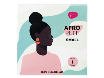 The Feme Collection Afro Puff