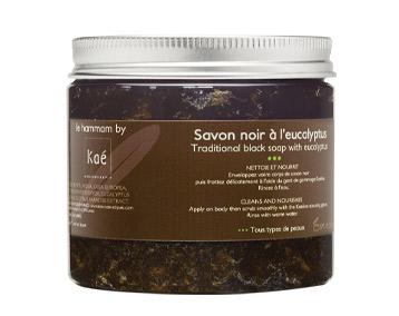 Kaé Black Hamman Soap with Eucalyptus