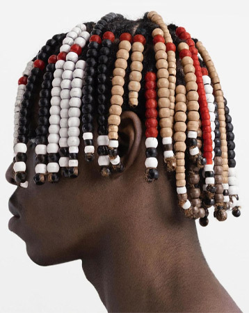 Afro hair beads